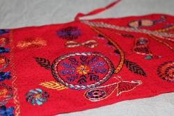 ノクシカタ刺繍ブックカバー